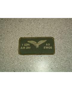 1011 - 1 Cdn Air Div A3 EWOS Nametag LVG