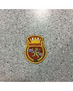 10142 420A - HMCS Mackenzie Ship Crest - Marlant - $5.75