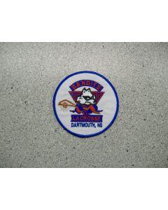1032 140 D - Bandit Lacrosse Logo Patch