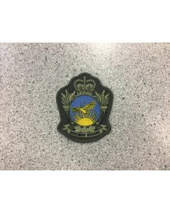 10665 - RCAF Academy Coloured LVG Heraldic Crest