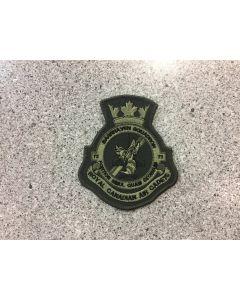 10666 - 75 Barrhaven Squadron Heraldic Crest LVG