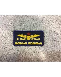 10669 - 2 Canadian Air Division (2 CAD) Nametag
