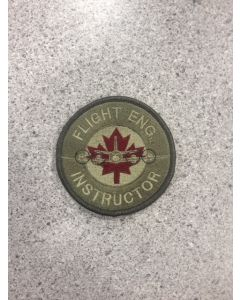 10872 - Flight Eng Instructor Patch Colour LVG (14 Wing)