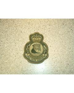 1090 184B - The Gliding School Prairie Heraldic Crest LVG