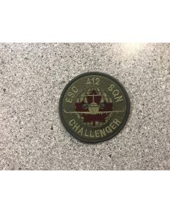 11001 - 412 Sqn Challenger Coloured LVG Patch - 7.50$ (412 sqn)