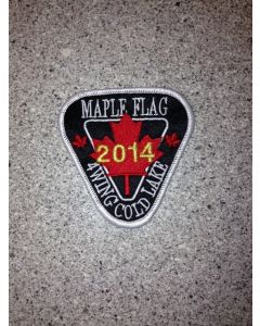 11354 - 2014 Maple Flag Patch (4 Wing)