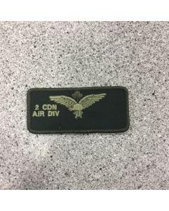 11455 - 2 Canadian Air Division Nametag LVG - 2 CAD