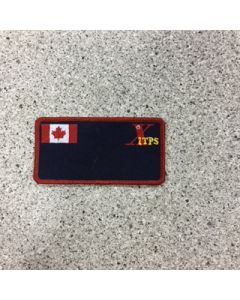 11668 - ITPS Nametag with Canadian Flag - Military
