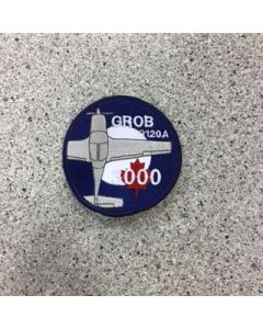 11854 - Grob 3000 Patch - Corporate