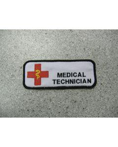 1190 - Medical Technician Nametag
