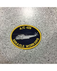 12039 - AC 429 Mirical Workers Patch - 12AMS $7.50