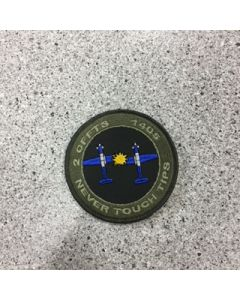 12047 - 2 CFFTS 1405 Never touch tips Coloured LVG Patch - 15 Wing