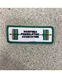 12050 - Manitoba Power Lifting Association Patch - Corporate