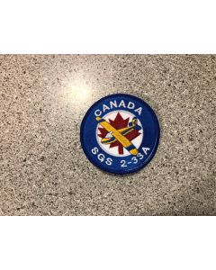 12325 474 D Canada SGS 2-33A Patch