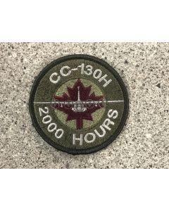 12558 451 C CC-130 H 2000 Hours Coloured LVG Patch
