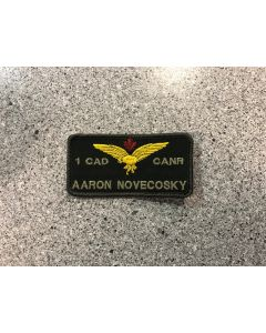 12726 - 1 Canadian Air Division - CANR  (1CAD) Coloured LVG Nametag