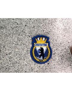 12935 517 - HMCS CHICOUTIMI Ship Crest