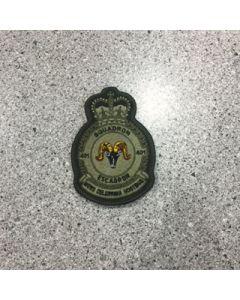 401 Squadron Heraldic Crest Coloured LVG