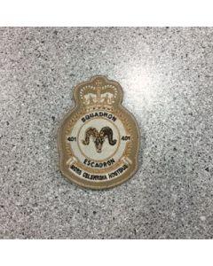 401 Squadron Heraldic Crest Tan