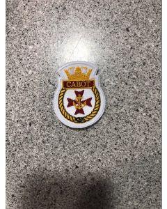 13173 HMCS CABOT Ship crest