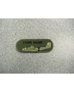 1348 191B - 442 Squadron Buffalo Nametag LVG