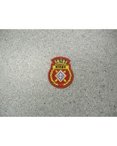 1353 83B - HMCS NIOBE Heraldic crest small - Bridgewater Sea Cadet Corps