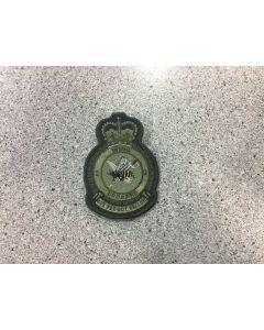 13938 472 F - 2 Wing Heraldic Coloured LVG Crest