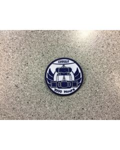 13946 472 D - Cougar Helcopter 1000 Hours Patch