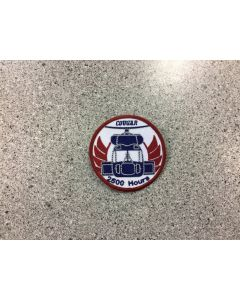13948 472 D - Cougar Helcopter 2500 Hours Patch