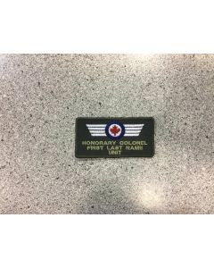 14016 474 D - Honorary Colonel Coloured LVG Nametag