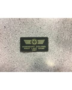 14018 474 D - Honorary Colonel LVG Nametag