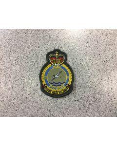 14173 475 E - 12 Wing Heraldic Crest Coloured LVG