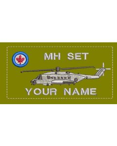 14238 - 12 Wing MH Set Coloured LVG Cyclone Nametag
