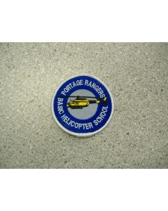 1437 367 E - Portage Rangers - Basic Helicopter School Patch