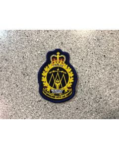 14480 81 B - CFS Newport Corner Heraldic Crest