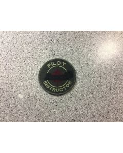 14509 20 A - CH-47 Chinook Coulored LVG Pilot Instructor Patch