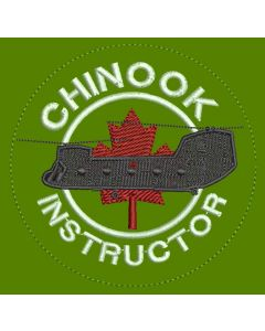 14545 20 A - Chinook Instructor Coloured LVG Patch