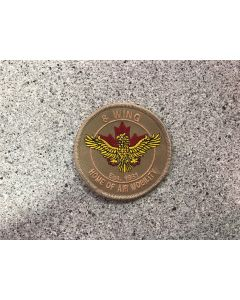 14566 15 D - 8 Wing Trenton - Home of Air Mobility Patch Tan