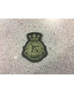 14581 460 E - 535 Archer Squadron Heraldic Crest LVG