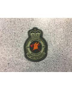 14601 35 A - 450 Squadron Coloured LVG Heraldic Crest