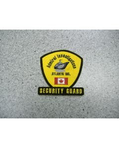 1466 - Admiral Investigation Atlantic - Security Guard Patch