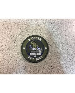 14752 264 -3 CFFTS PFT 1802 Coloured LVG Patch
