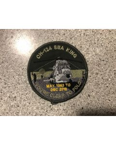 14827 45E- CH-124 Sea King Cleared to Fold Coloured LVG Patch