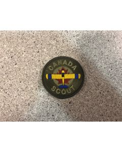 14842 39 C - Canada Scout Coloured LVG Patch