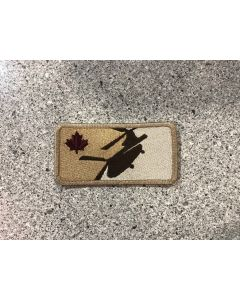 14862 472 F - Major League Helicopter 450 Squadron Patch Style #2 Patch Coloured Tan - Chinook