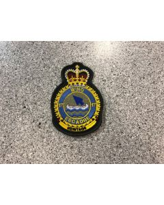 14939 42 A - 17 Wing Winnipeg Coloured LVG Heraldic Crest