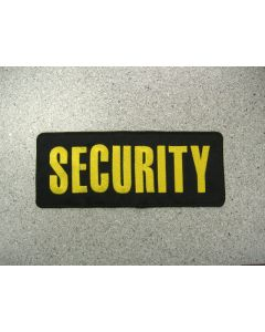 """1496 - Security Namebar 10"""" x 4"""""""