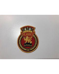 "14977 - HMCS ST.JOHN""S Ship's Crest"