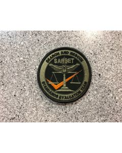 14986 - Search and Rescue Standards Evaluation Team Patch LVG (SARSET)