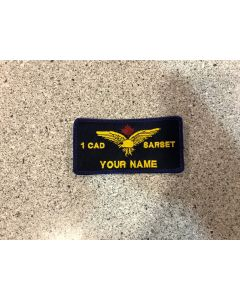 14990 - 1 Canadian Air Division Search and Rescue Standards Evaluation Team Nametag (1 CAD SARSET)